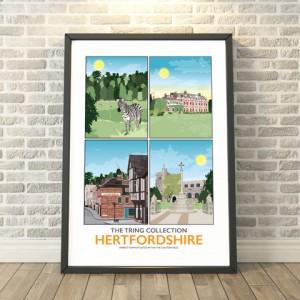 Tring,-Hertfordshire-4-print-Collage-frame (1)